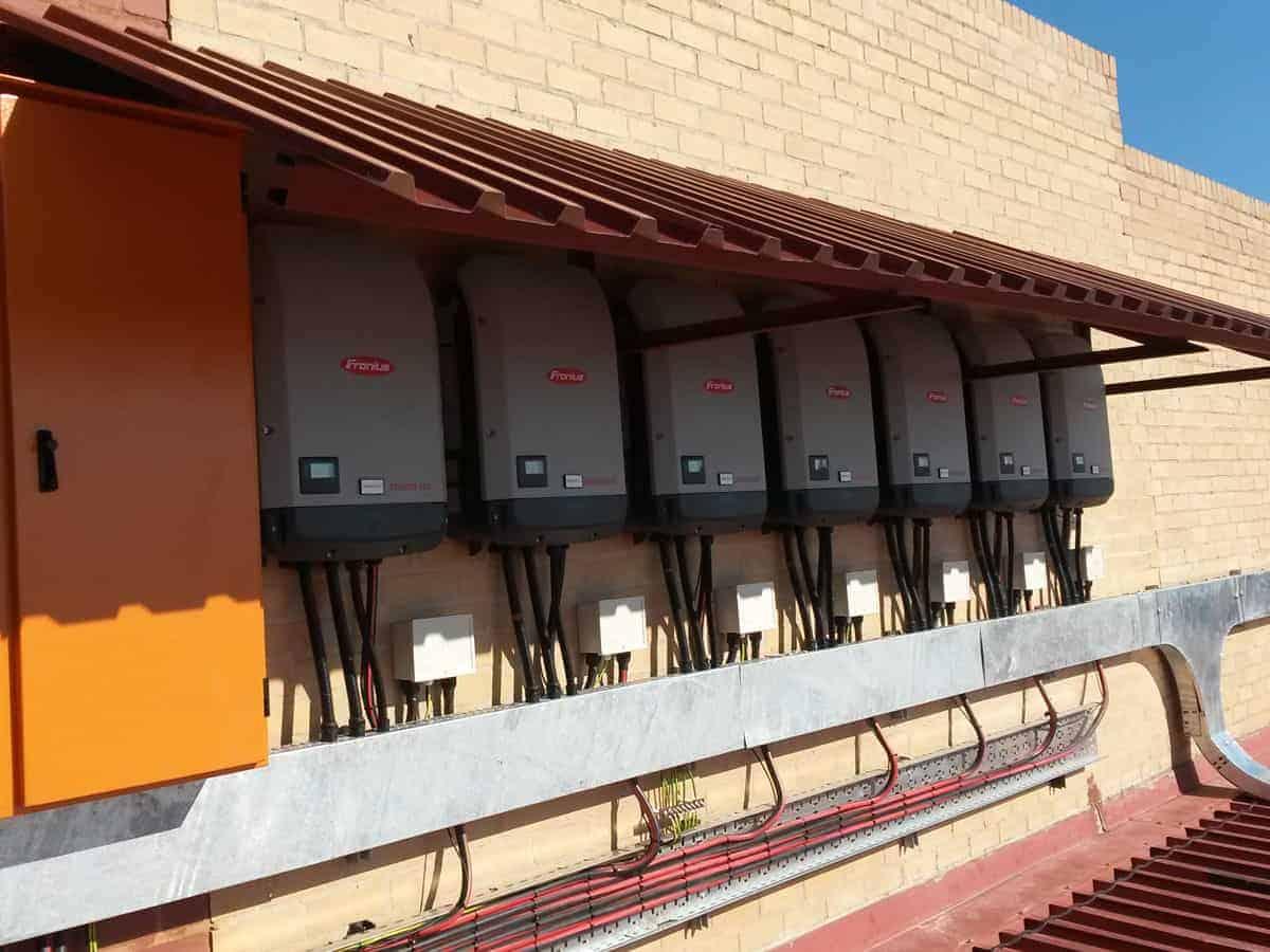 Grid-tied Solar Africa