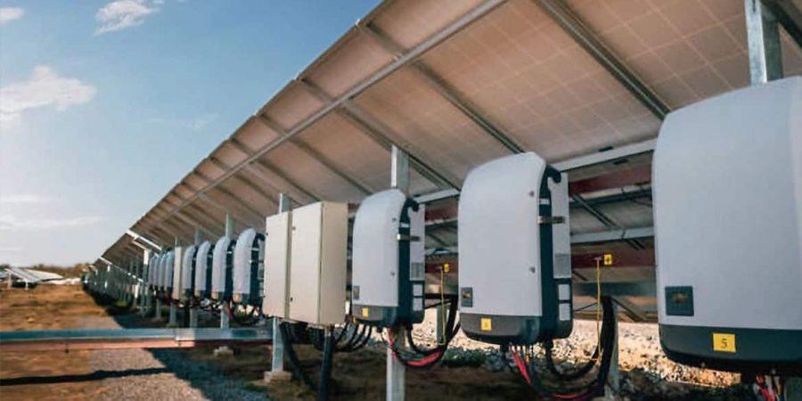Solar-Inverter-farm