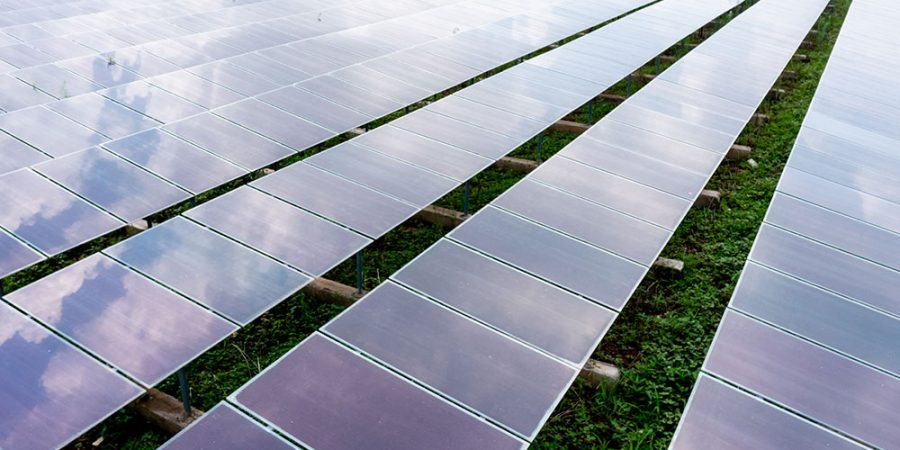 aerial-view-solar-panels-solar-cells-field