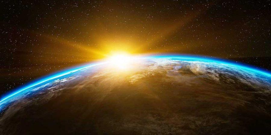 sunrise-globe